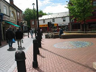 Caldmore Place in West Midlands, England
