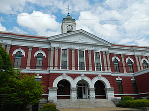 Calhoun County, Alabama - Image: Calhoun County, Alabama Courthouse