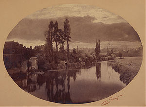 Camille Silvy - Image: Camille Silvy (French River Scene Google Art Project