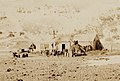 Camp and Hut, Antarctica, Southern Cross Expedition, 1899.jpg