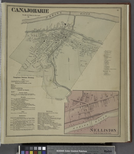 File:Canajoharie (Village); Canajoharie Business Directory.; Nelliston (Village) NYPL1584222.tiff