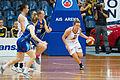 Canberra Capitals vs Logan Thunder 4 - Australian Institute of Sport Training Hall.jpg