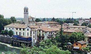 Canonica dAdda Comune in Lombardy, Italy