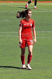 Cansu Gürel Turkish female football player