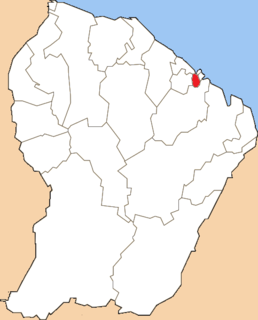 Canton of Matoury Former canton in French Guiana, France