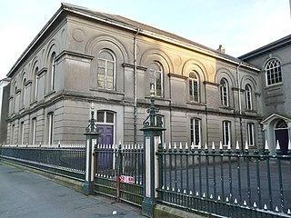 Capel Heol Awst, Carmarthen Church in Wales, United Kingdom