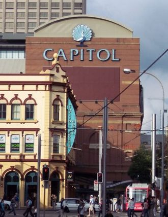 Culture of Sydney - Capitol Theatre located at Haymarket.
