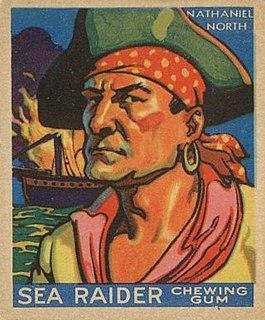 Nathaniel North Bermudian pirate