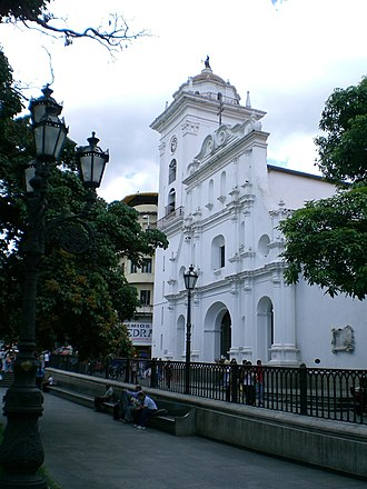 Roman Catholic Archdiocese of Caracas - Metropolitan Cathedral of St. Ann