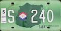Caribbean Netherlands license plate (Saba).png