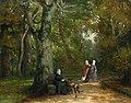 Carl Breitbach Drei Frauen im Park.jpg
