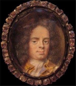 Elias Brenner - Portrait of Carl Breitholtz till Margreteholm by Elias Brenner, 1684