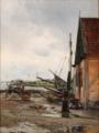 Carl Frederik Aagaard - Efter Regnen. Motiv fra Kastrup - 1888.png