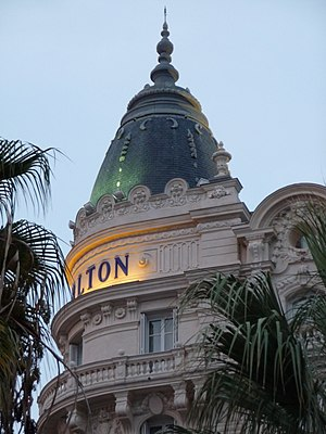 InterContinental Carlton Cannes Hotel - One of the domes