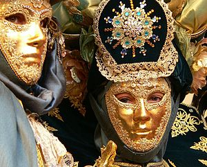 Maltese Carnival - Image: Carnival in Valletta fancy dress costume 03