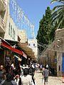 Carrer del barri musulmà a Jerusalem.jpg