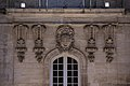 Cartouches as Keystone on the wing of the refectory 0.jpg