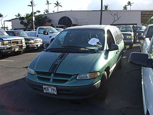 Dodge Caravan turned in for Cash for Clunkers.