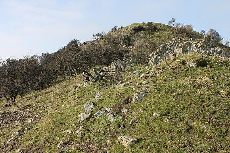File:Castell Degannwy Deganwy Castle Sir Ddinbych Wales 16.JPG