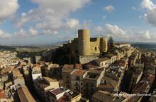 Veduta del castello normanno