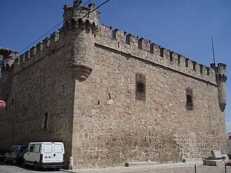 Orgaz - Castle of Orgaz (back side view)