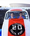 Castro y su socio, Oliver Nowalski, en Ciudad del Cabo.jpg