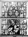 Cathédrale - Vitrail, Chapelle Jeanne d'Arc, la Vierge et l'Enfant, saint jean, baie 36, dixième panneau, en haut - Rouen - Médiathèque de l'architecture et du patrimoine - APMH00031342.jpg