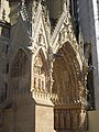 Cathédrale ND de Reims - façade ouest, portail nord (01).JPG