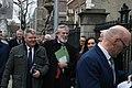 Cathal Boylan MLA & Gerry Adams TD enter the Dáil100 event (32962002088).jpg