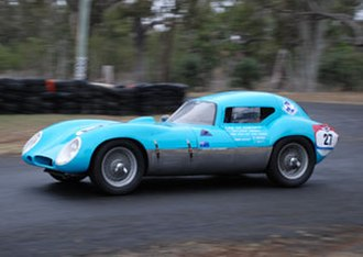 Australian GT Championship - The 1962 Championship winning Centaur Waggott of John French