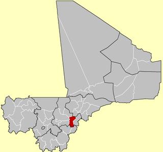 San Cercle Cercle in Ségou Region, Mali