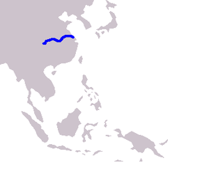 Description de l'image Cetacea range map Chinese River Dolphin.PNG.