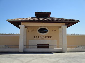 Château La Louvière - A recently built part of the winery of Château La Louvière.