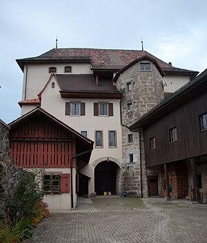 Attalens - Attalens Castle