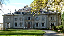 Schloss Voltaire in Ferney (Quelle: Wikimedia)