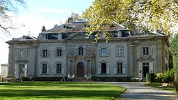 Voltaire's château at Ferney, France (Source: Wikimedia)
