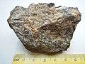 Chalcopyrite CuFeS2, galena PbS, siderite Fe2CO3 (20067475209).jpg