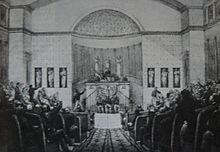 gravure représentant la chambre introuvable