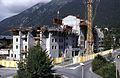 Chamonix-Sud (devant le Chamois Blanc) en juillet 1999.jpg
