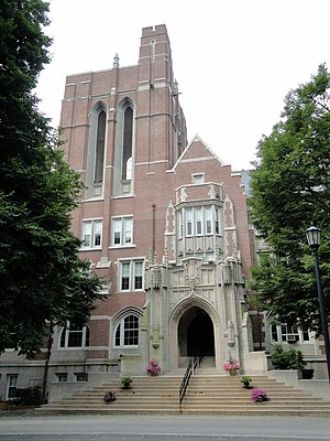 Emmanuel College (Massachusetts) - Administration Building, Emmanuel College