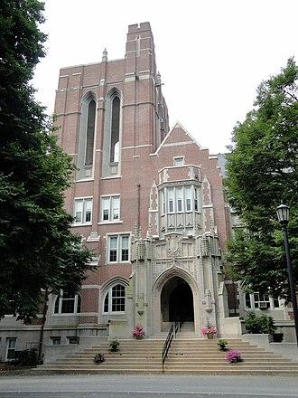 Emmanuel College (Massachusetts) - Administration Building, Emmanuel College