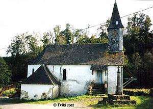 Roquiague - The chapel of Roquiague