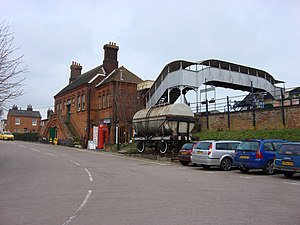 East Anglian Railway Museum - The station building