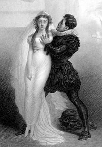 Harriet Smithson - Charles Kemble and Harriet Smithson as Romeo and Juliet