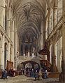 Charles Louis Lesaint - Interior, St Etienne du Mont, Paris - Walters 371363.jpg