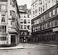 Charles Marville, Rue du Haut-Moulin, du marché aux fleurs, ca. 1853–70.jpg