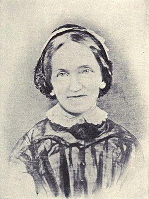 Dwight Baldwin (missionary) - Charlotte Baldwin, c. 1860.