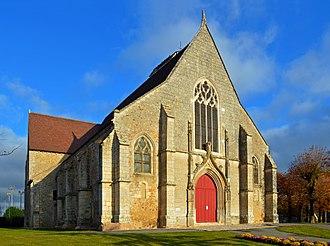 Châteaudun - Image: Chateaudun Eglise St Jean de la Chaine (1)