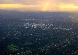 North Shore (Sydney) - The suburb of Chatswood lies in the centre of the North Shore