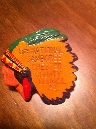 Chester County Council - CCC 5th National Jamboree 1960